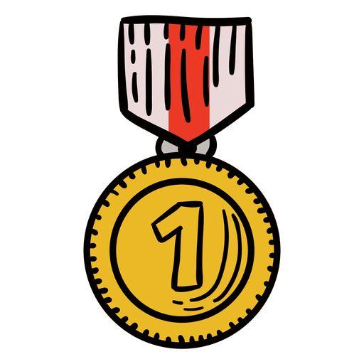 Award first medal hanging hand drawn #AD , #ad, #Paid, #medal, #drawn, #hand, #Award