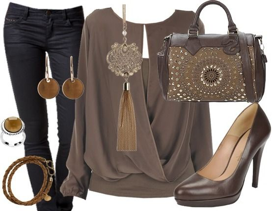 Lovely Brown - Tenue De Travail - stylefruits.fr