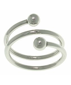 @Overstock.com - Click here for Ring Sizing ChartThis ring cannot be resizedSleek fashion ringhttp://www.overstock.com/Jewelry-Watches/Spiral-Stainless-Steel-Ring/2542470/product.html?CID=214117 $18.44