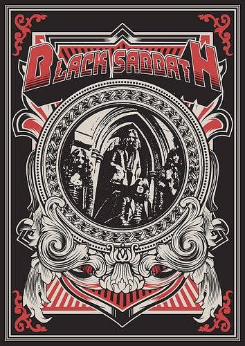 BLACK SABBATH was so very dark in some of there songs but still great.