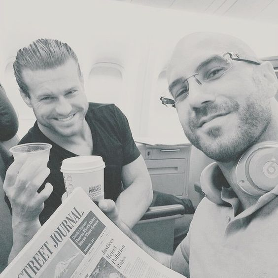 """Dolph Ziggler on Instagram: """"Couple of old-timers,  enjoying their... ❤ liked on Polyvore featuring wwe"""
