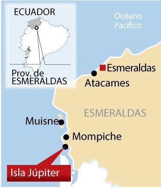 Isla Júpiter - Esmeraldas, Ecuador Descubriendo Júpiter | Viajemos | La Revista | EL UNIVERSO