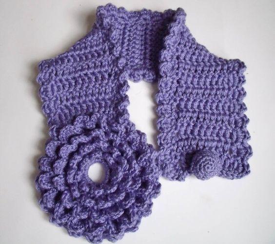 Bufandas Cuellos Chales, Cuellos Tejidos A Crochet, Crochet Bufandas, Crochet Ganchillo, Vestidos, Tejidos Blusas, Accesorios Tejidos, Novedosa Bufandas