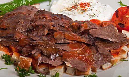 طريقة عمل الكباب المشوى على الطريقة الشامية Iskander Kebab Recipe Doner Kebabs Turkish Recipes