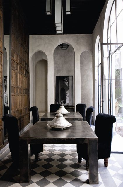 Tables Modern Moroccan And Moroccan Decor On Pinterest