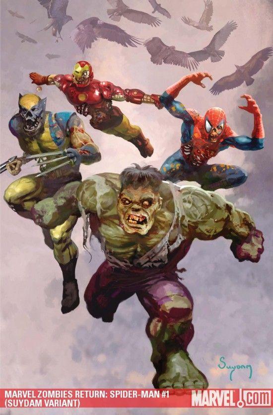 zombie superheroes
