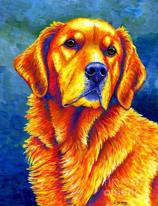 Pin By Crj Photography On Wonderful Art Work From Fine Art America Dog Print Art Dogs Golden Retriever Golden Retriever