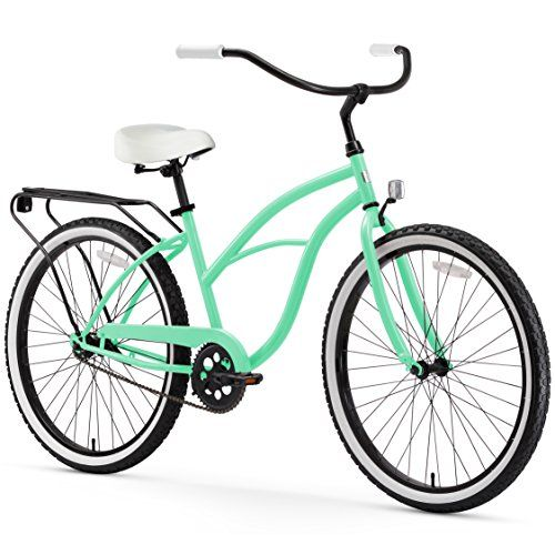 Sixthreezero Around The Block Women S Single Speed Cruise Cruiser Bicycle Bicycle Beach Cruiser Bicycle