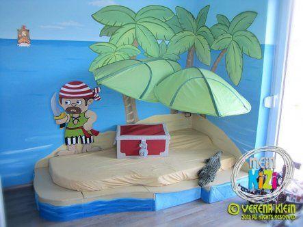 Kinderzimmer 'Piratenspielzimmer'