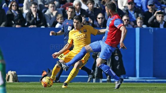 Llevant UD 0 - 2 FC Barcelona #FCBarcelona #Game #Match #Liga