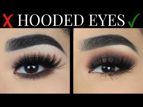 Easy Smokey Eye For Hooded Eyes Youtube Hooded Eye Makeup