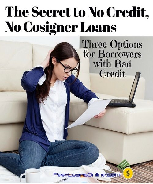No Credit And No Cosigner Isn T The End Of The World If You Know Your Options Step By Step To Wh Best Payday Loans Payday Loans Student Loans Without Cosigner