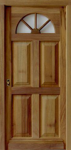 Puertas on pinterest - Puertas principales de madera ...