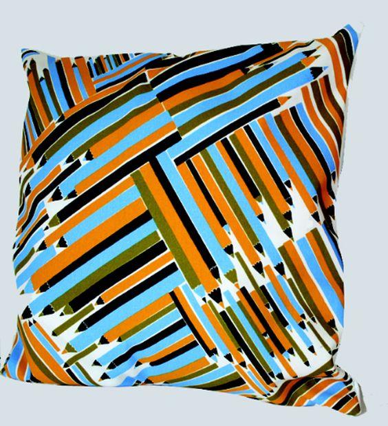 Pencils cushion
