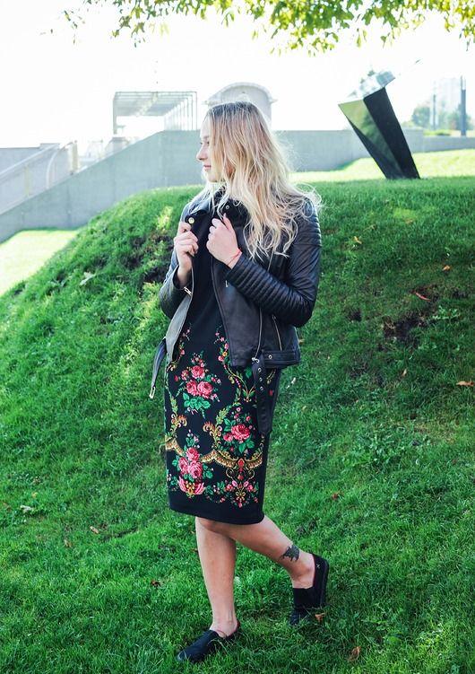 Sukienka Goralska Czarna Pakamera Pl Fashion Pencil Skirt Floral Skirt