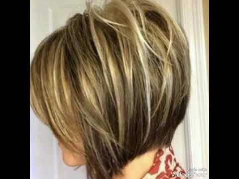 جديد قصات شعر قصير الوان جذابة 2018 Youtube Hair Styles Short Hair Styles Hair