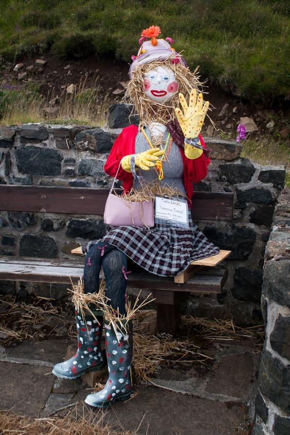 'Scarecrow Festival' - Helena Sierakowska   Carbost, Skye