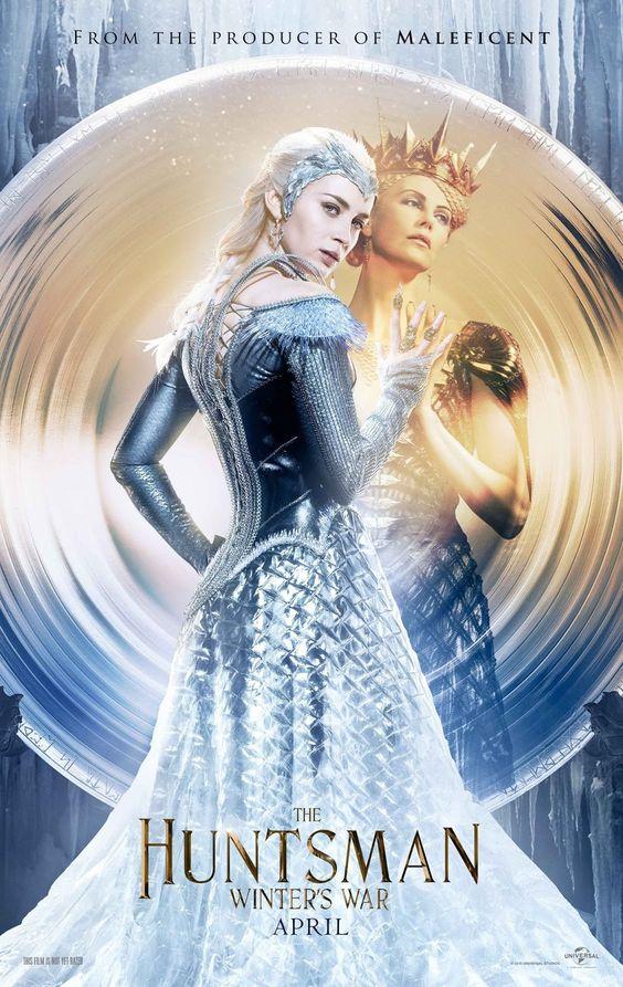Primeros pósters de 'El Cazador y la Reina del Hielo' | Blog Divergente | Noticias y Reseñas Literarias: