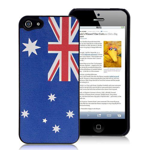 40% OFF Black Friday Discount on Australia Flag iPhone 5 5S Case Cover #blackfriday #discount #australia #flag #country #iphone5 #case #iphone5case $2.49