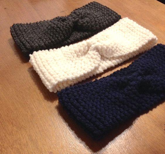 Tricoter le headband de Lucette et Suzette, un bon projet pour débuter au tricot