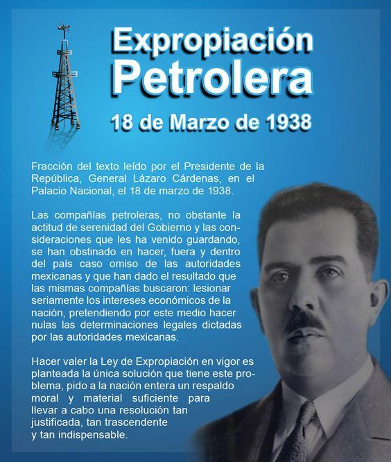 mexico decreto expropiacion petrolera general cardenas