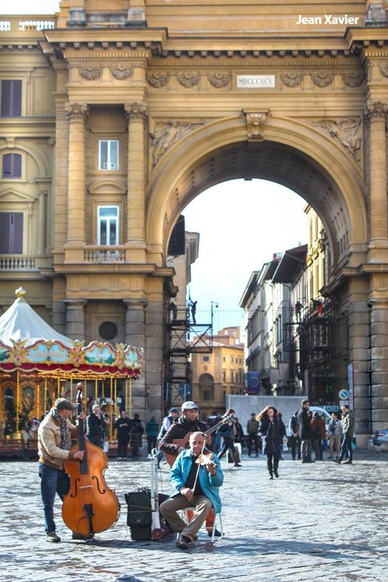 "Florence Italy, this is just outside the hotel Kurt and I stayed......just like my ""profile"" pic:"