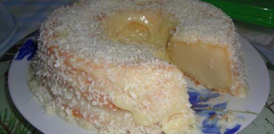 Receta de leche de coco - torta atrapa marido | Recetas Supremo