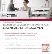Secrets of Success in the Digital Age: Essentials of Engagement