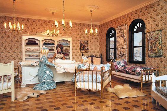 Die Betten Abteilung im größten Miniatur Kaufhaus der Welt.