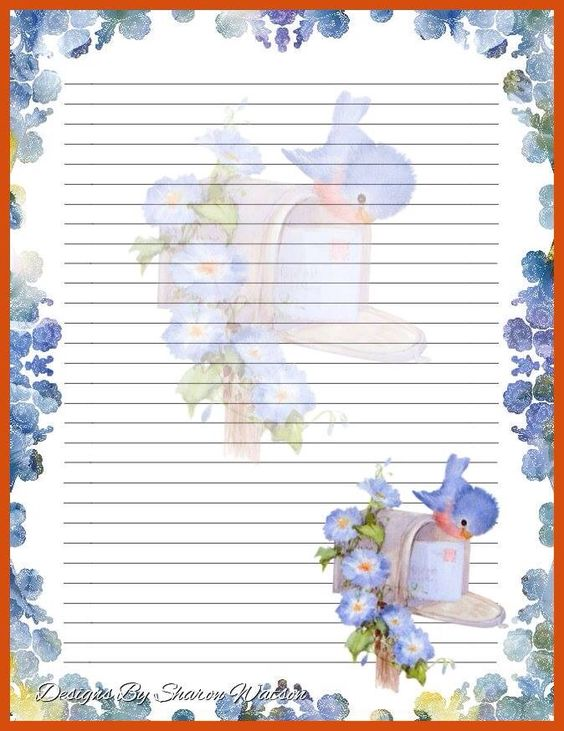 lined stationery Motheru0027s Day Stationery Pinterest - free printable lined stationary