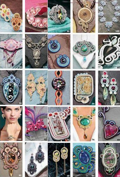 Soutache: 30 Gorgeous Bead Embroidery Designs - Otros libros - Perles & Co