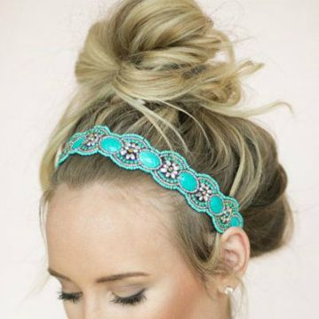 Your Weekend Hairstyle: Messy-Chic Buns
