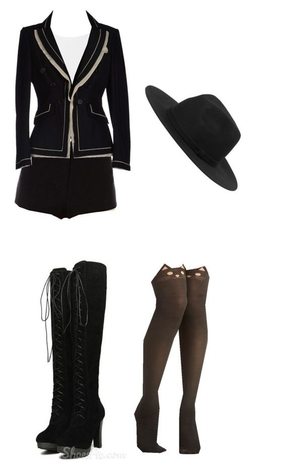 """""""f(x) Krystal _ Red Light"""" by imacrab ❤ liked on Polyvore featuring tabbisocks, Estradeur, Moschino and Monki"""