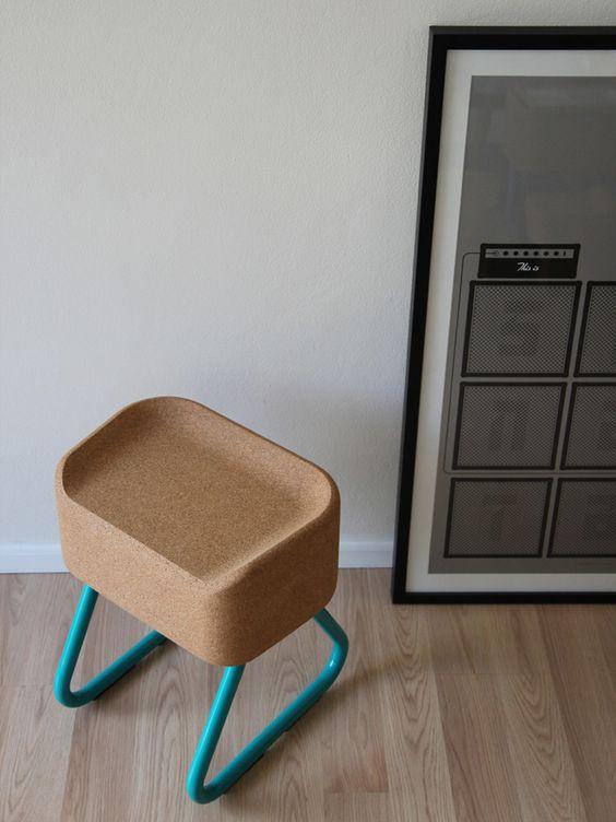 Image of Ronny Stool, designen, machen und verkaufen nur kl. Serien, wiederverwendbare Materialien, Australien :-(