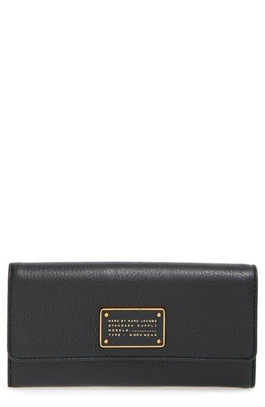 MARC BY MARC JACOBS Trifold Flap Wallet available at #Nordstrom