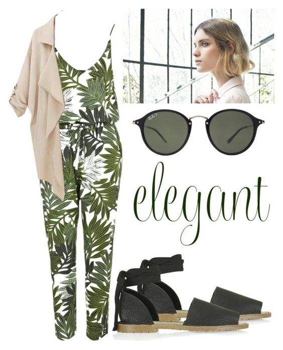 """""""Untitled #327"""" by hampster12 ❤ liked on Polyvore featuring Topshop, Ray-Ban, Nuevo, women's clothing, women's fashion, women, female, woman, misses and juniors"""