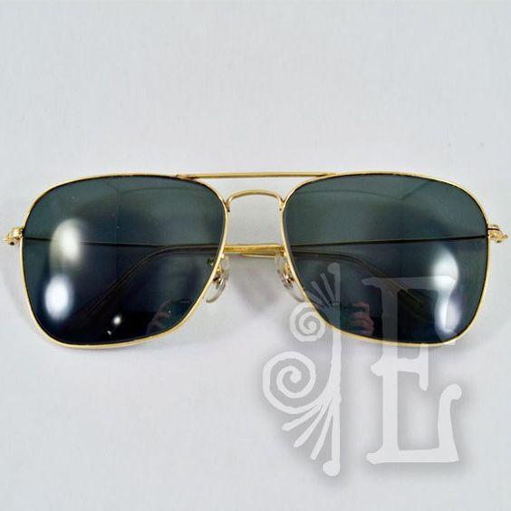 vintage ray ban aviator sunglasses sale  vintage caravan ray ban sunglasses g15 lenses classics