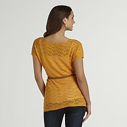 $23.99 crochet style mustard year around. --  Womens Tops: Get Womens Tunic Tops, Tank Tops and More at Sears