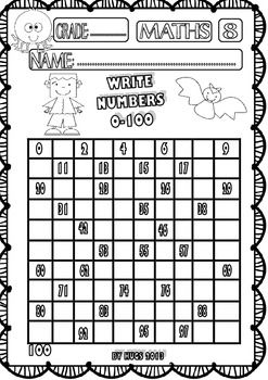 math worksheet : halloween maths funny worksheets for p k k and 1st grade  set 1  : Fun Halloween Math Worksheets