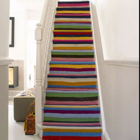 Cool Painted Stairs | www.imgkid.com - The Image Kid Has It!