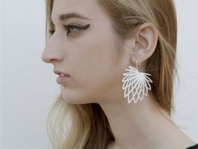 Buy Custom Earrings - Shapeways 3D Printing