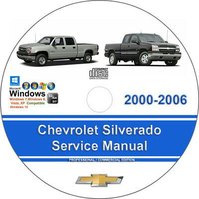 Chevrolet Silverado 2000 2001 2002 2003 2004 2005 2006 Service Repair Manual In 2020 Chevrolet Silverado Chevrolet Colorado Chevrolet Trailblazer