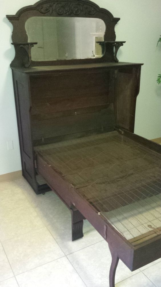 Antique Murphy Bed By Therevampedhome On Etsy Luv It