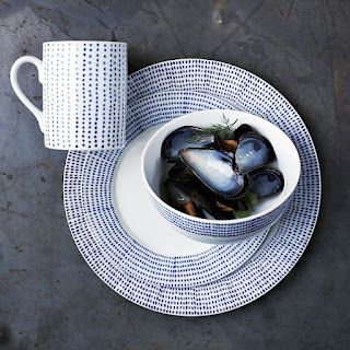 HOLLY WOULD: WEST ELM INSPIRED DINNERWARE