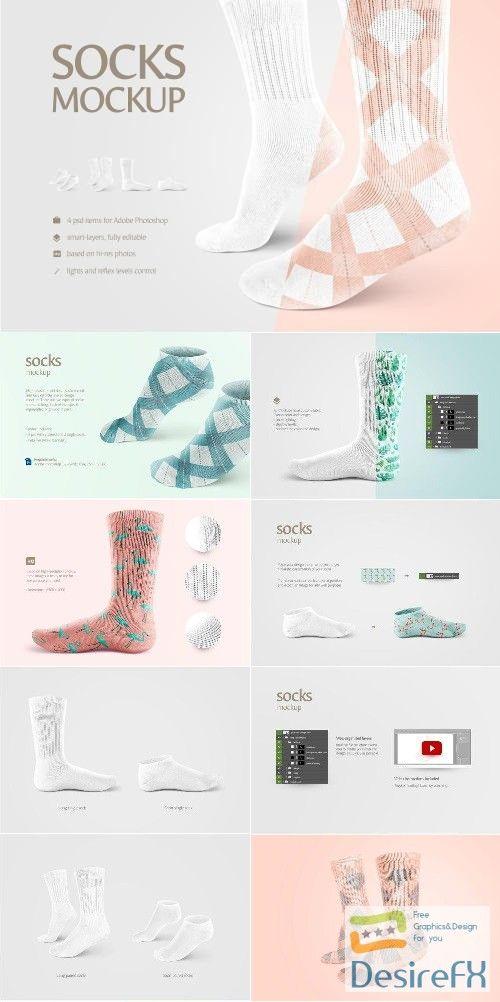 Download Download Socks Mockup 2290104 Desirefx Com Clothing Mockup Mockup Design Sports Design