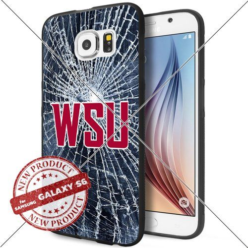 NEW Washington State Cougars Logo NCAA #1693 Samsung Galaxy S6 Black Case Smartphone Case Cover Collector TPU Rubber original by WADE CASE [Break] WADE CASE http://www.amazon.com/dp/B017KVN5HG/ref=cm_sw_r_pi_dp_5ksywb17QPAWD