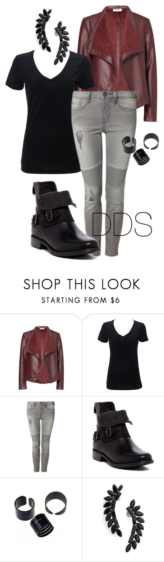 """Moto"" by donna-duggan-sargeant ❤ liked on Polyvore featuring BB Dakota, Dex, UGG Australia and Cristabelle"