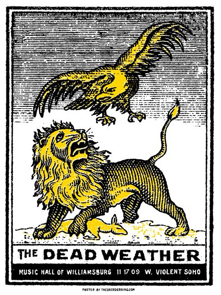 GigPosters.com - Dead Weather, The - Violent Soho