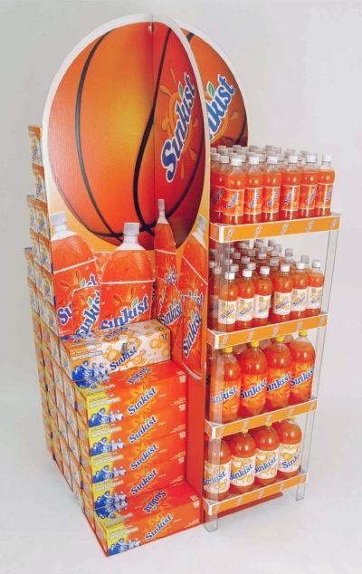 Corrugated Lobby Display™ | Promotional Display - PFI | Presence From Innovation, LLC | Merchandising Displays | Point of Purchase | Custom Fixtures | PFInnovation.com
