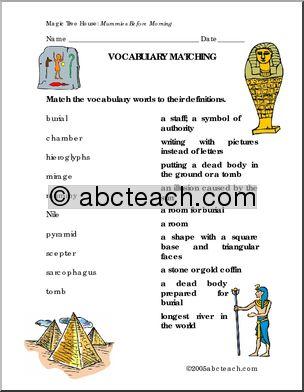 Collection of King Tut Worksheets - Bloggakuten